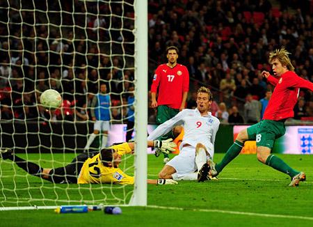 El representativo de Bielorrusia quedó encuadrado en el grupo de  Inglaterra.