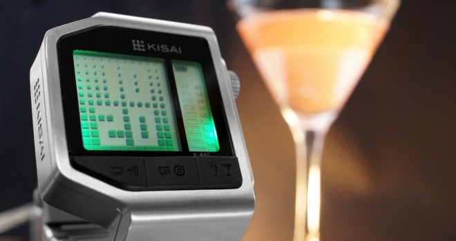 Tokyoflash lanza reloj que detecta si estás borracho