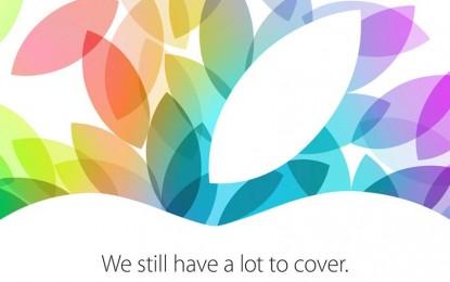 Mira acá el evento de Apple 22 de Octubre