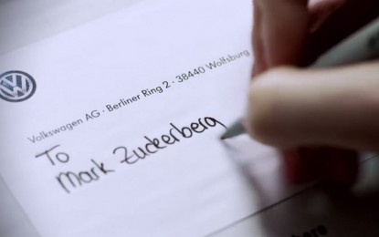 Conoce el regalo que le entregó Volkswagen a Mark Zuckerberg