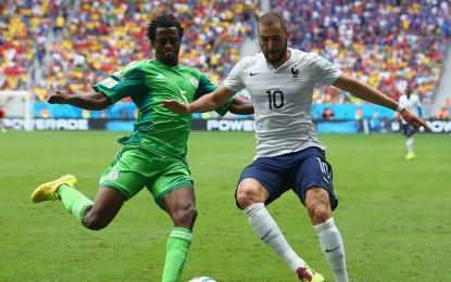 Con algo de sufrimiento, Francia se impuso a Nigeria y está en cuartos de final