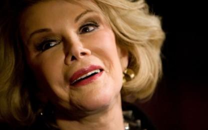 Muere la comediante Joan Rivers a los 81 años
