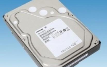 Toshiba anuncia discos duros de 5TB para el segmento consumidor