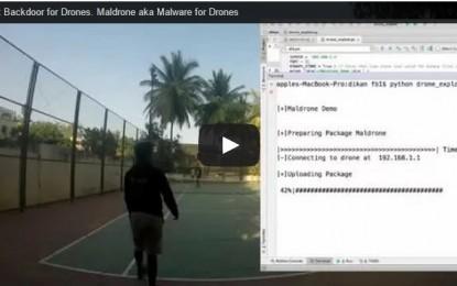 Encuentran backdoor en los Parrot AR Drone