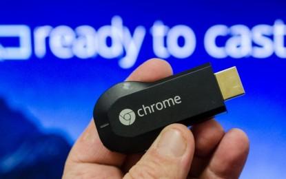 Google vendió 10 millones de Chromecast en 2014