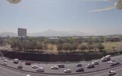 Video muestra lo que jamás debes hacer con un dron