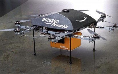Amazon logra la aprobación experimental de sus drones