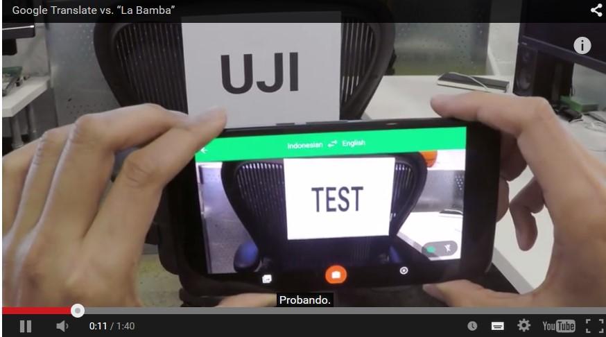 Traductor Google y su Video Divertido