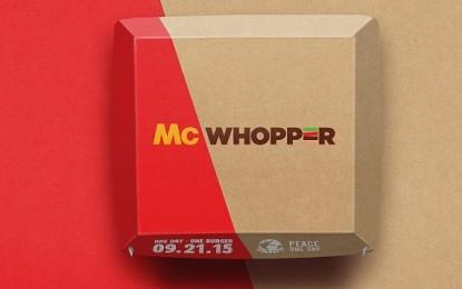 Burger King propone a McDonald´s unirse para crear una sola hamburguesa