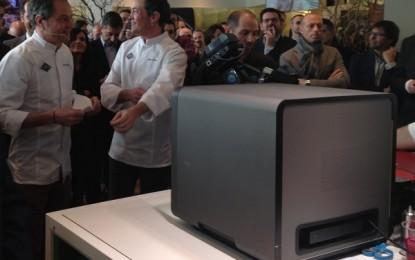Una impresora de comida, entre las novedades de la feria de tecnología de Barcelona