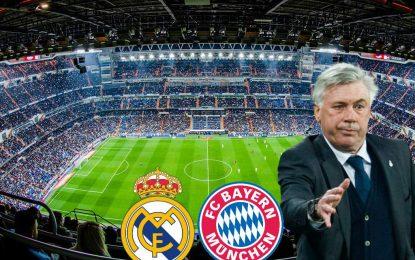 El 11 del Bayern Munich para remontar al Real Madrid en el Bernabéu