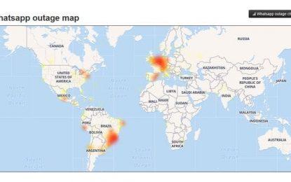 WhatsApp estuvo caído más de dos horas a nivel mundial