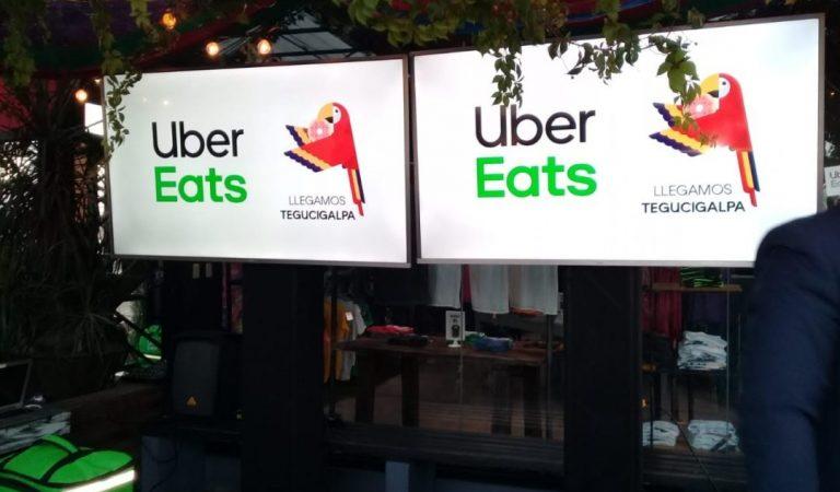 Uber Eats se retira de Honduras